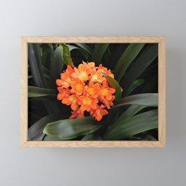 Natural Bouquet Framed Mini Art Print