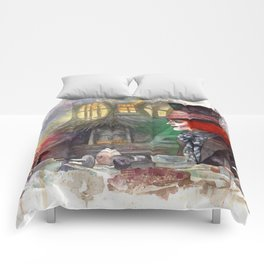 Alice and the Mad Hatter Comforters