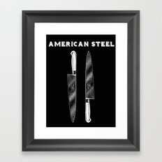 American Steel Cutlery Framed Art Print