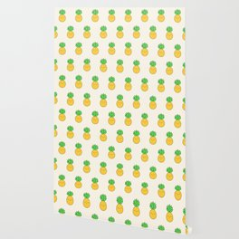 Happy Pineapple Wallpaper