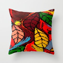 Nature's Explosion Throw Pillow