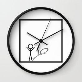 Stickman Wall Clock