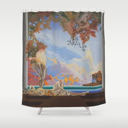 After Maxfield Parrish Shower Curtain