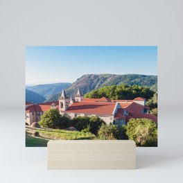 Monastery of San Esteban, Galicia, Spain Mini Art Print