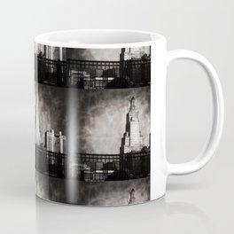 Power and Light Building, Kansas City, Surreal Black and White Coffee Mug