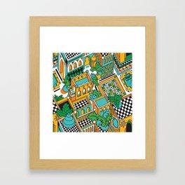 Marrakesh Framed Art Print