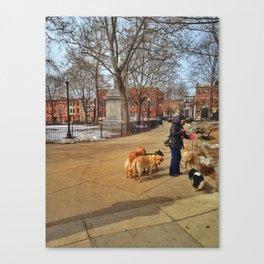 Winthrop Square Canvas Print