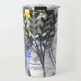 abstract nature Travel Mug