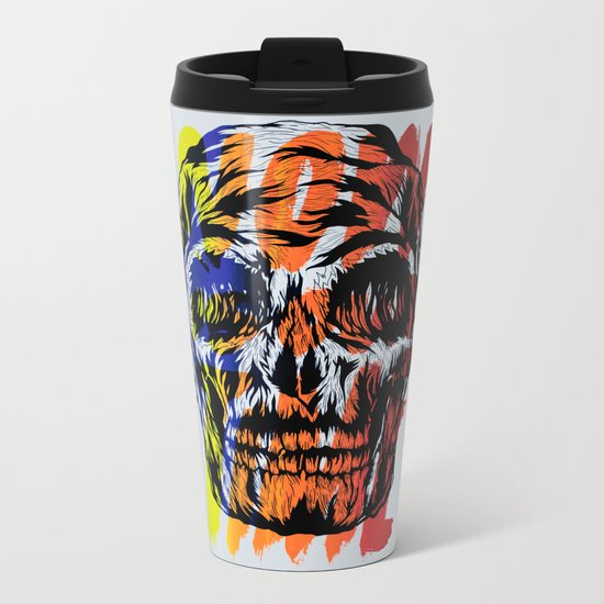 Now is our time Metal Travel Mug