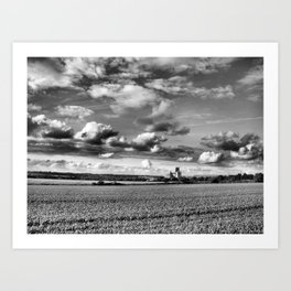 Cathedral of Agriculture. Art Print