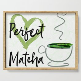 Perfect Matcha Serving Tray