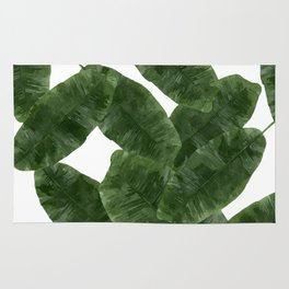 Banana Leaves V2 #society6 #decor #buyart Rug