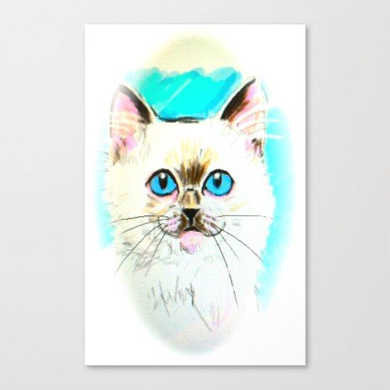 Kitty Canvas Print