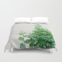 By the wall Duvet Cover