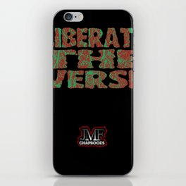 Liberate The Verse iPhone Skin