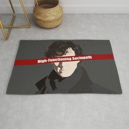 Sherlock: High-Functioning Sociopath Rug