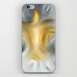 Fire And Ice - Energy Art By Sharon Cummings iPhone Skin