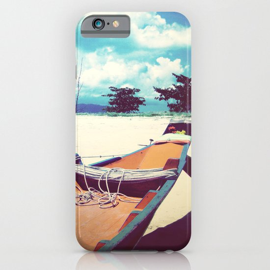 Longboat on the Shore, Thailand iPhone & iPod Case