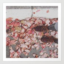 Autumn shades Art Print