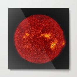 Solar Flares 2, Sept. 4, 2017 Metal Print