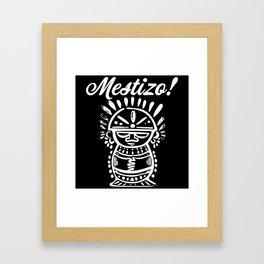 Mestizo Roots Framed Art Print
