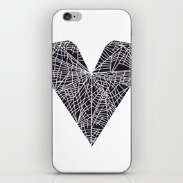 Map of a Rejected Heart iPhone Skin
