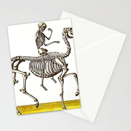 Horse Skeleton & Rider Stationery Cards
