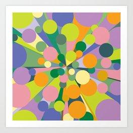 Geometric No. 21 - Causeway 2 Art Print