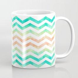 Watercolor Zig Zag Coffee Mug