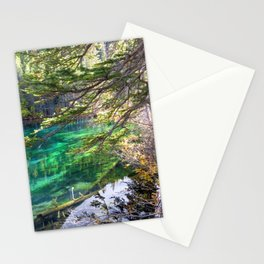 Grassi Green Stationery Cards