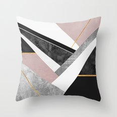 Lines & Layers 1 Throw Pillow