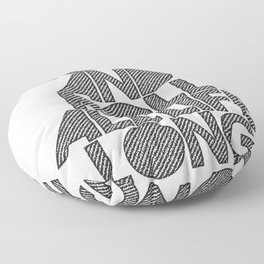 Rock and rol all life long! Floor Pillow