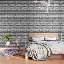 A Pointillist Arrangement of Black and White Wallpaper