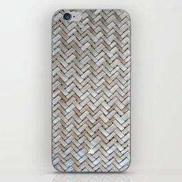 BORNEO WEAVING PATTERN iPhone Skin