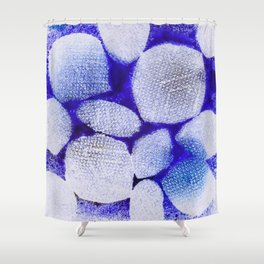 Abstract No. 398 Shower Curtain