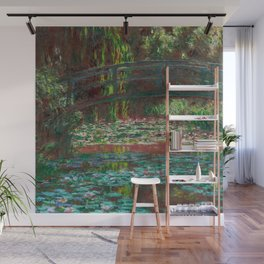 "Claude Monet ""Water Lily Pond"" Wall Mural"