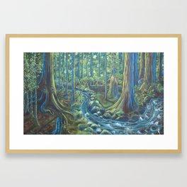 Pacific Rainforest  Framed Art Print