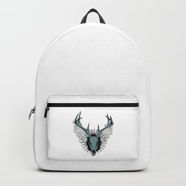 Deer skull Backpack