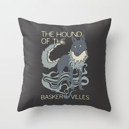 Books Collection: Sherlock Holmes Throw Pillow