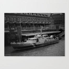 Hamburg Coastguard Canvas Print