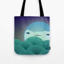 Moonlit Hills Tote Bag