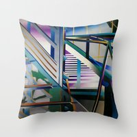architecture Throw Pillows featuring Architecture by Paris Martin