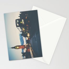 the night bus ...  Stationery Cards