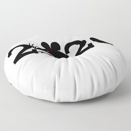 2020 Year Of The Rat Gift Design Floor Pillow