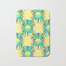 Sunshine pattern Bath Mat