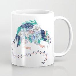 Flowered Rat Coffee Mug