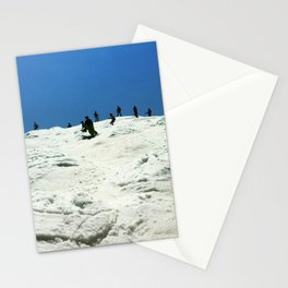 Spring Skiing on Superstar Stationery Cards