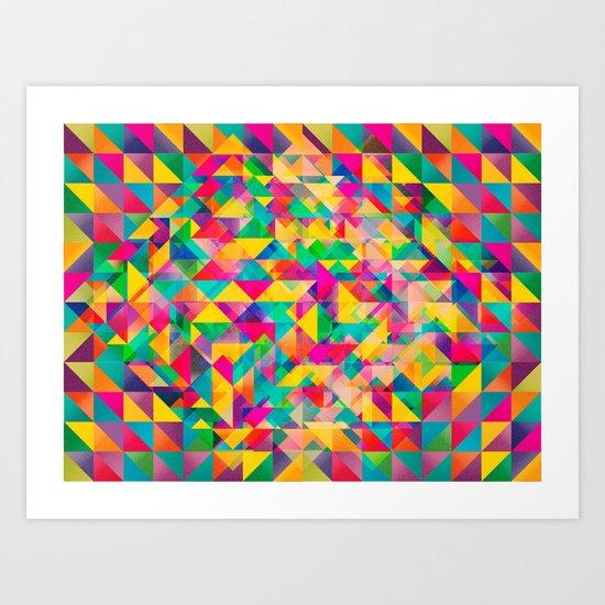 Blink Art Print