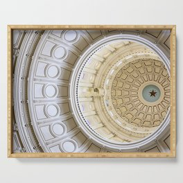 Austin Texas Capital Dome Serving Tray