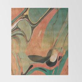 Abstract Painting ; Utah #2 Throw Blanket